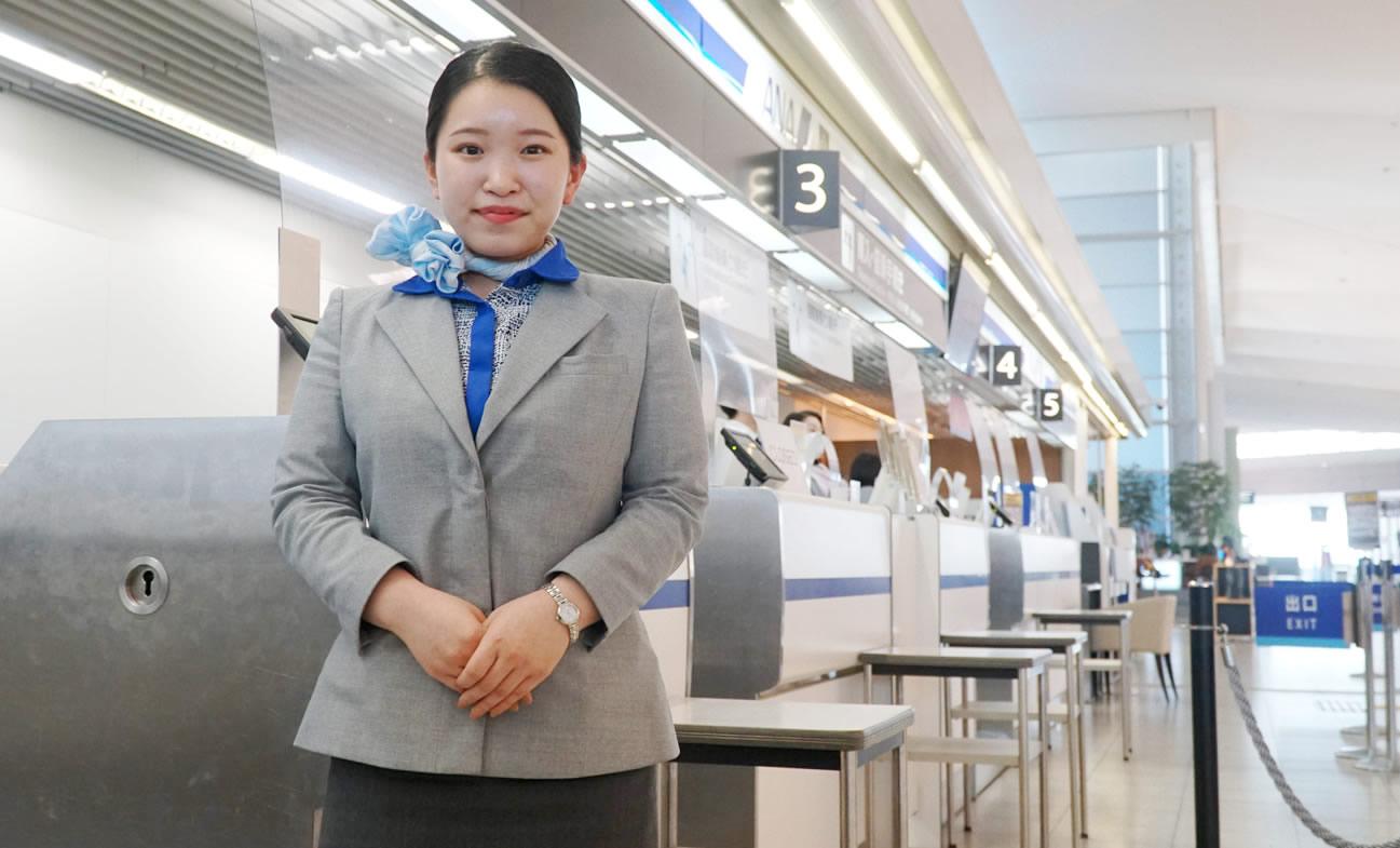 日本中の空港で卒業生が活躍中!