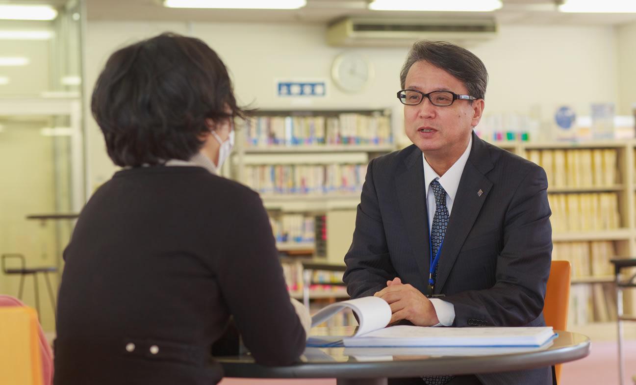 幅広い進路選択を学校全体でサポート