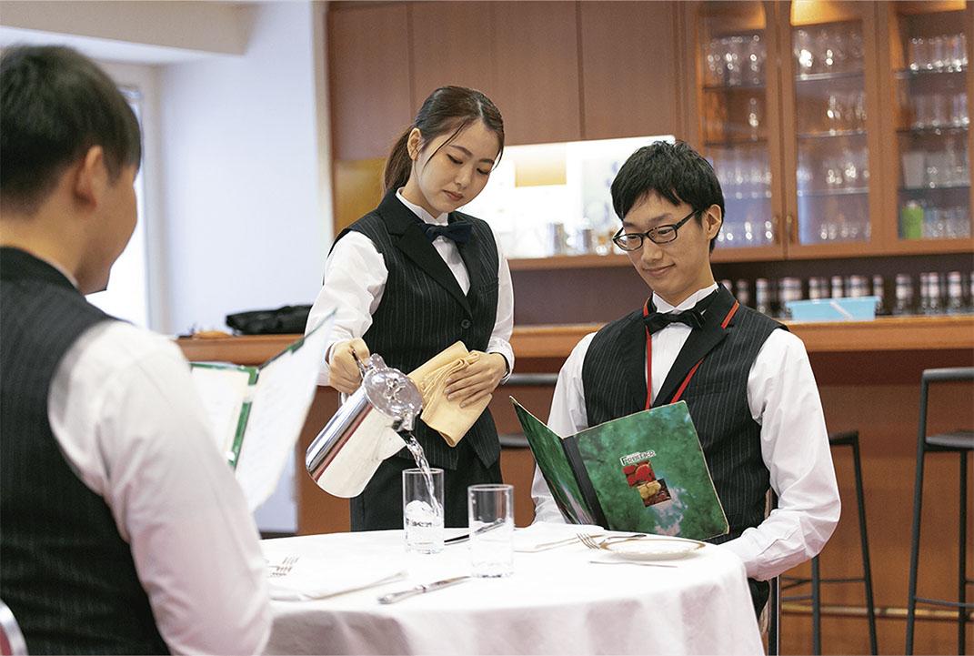 レストランサービス